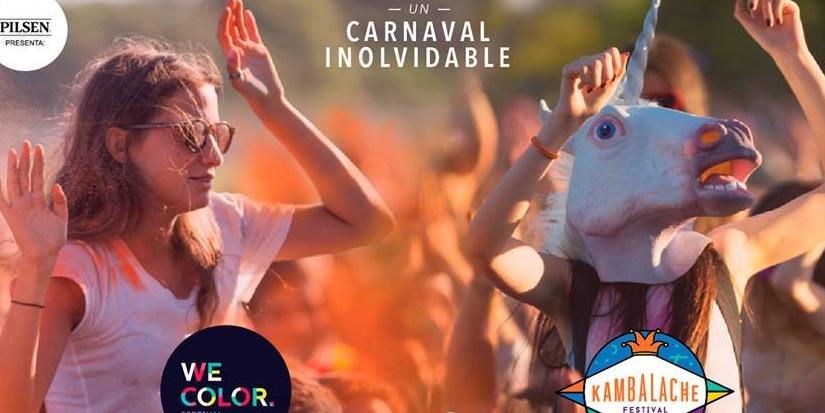 We Color Festival en La Paloma!