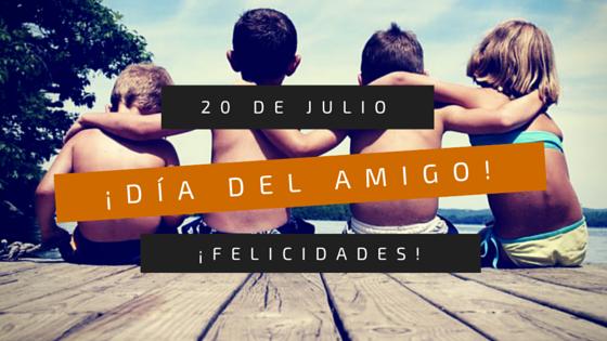 4+1 fechas para celebrar el Día del Amigo