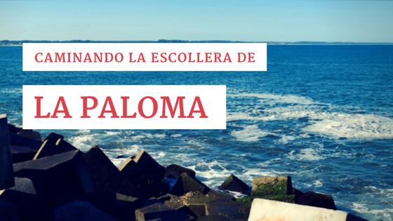 Caminando la escollera de La Paloma