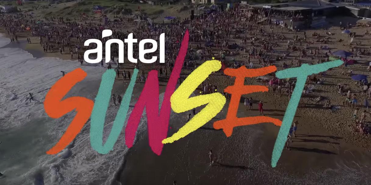 Llega el imperdible de todos los años: el Antel Sunset!