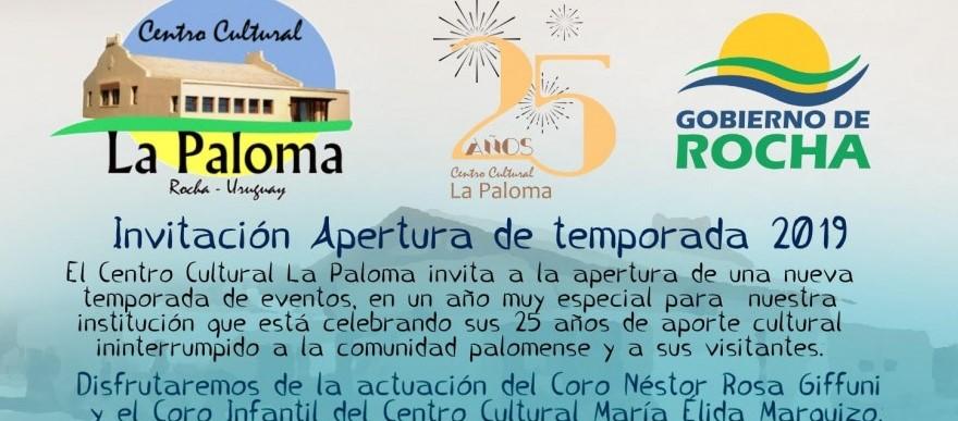 Apertura de temporada en La Paloma!