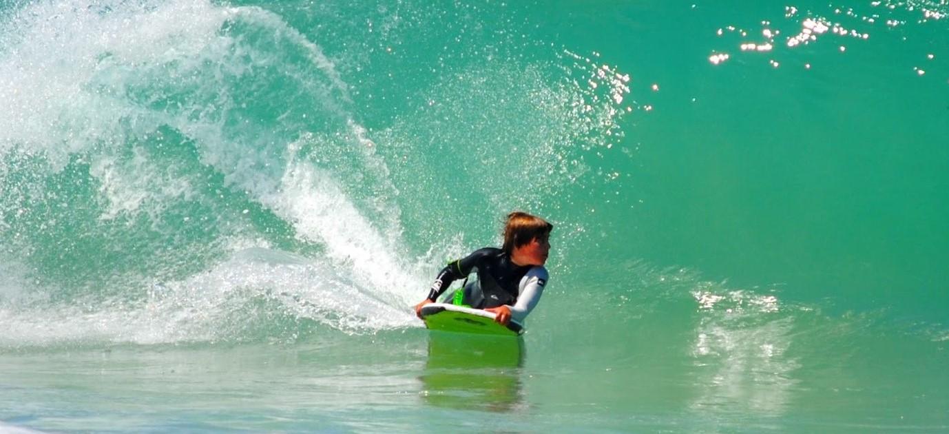III campeonato de surf para niños y adolescentes en La Paloma!