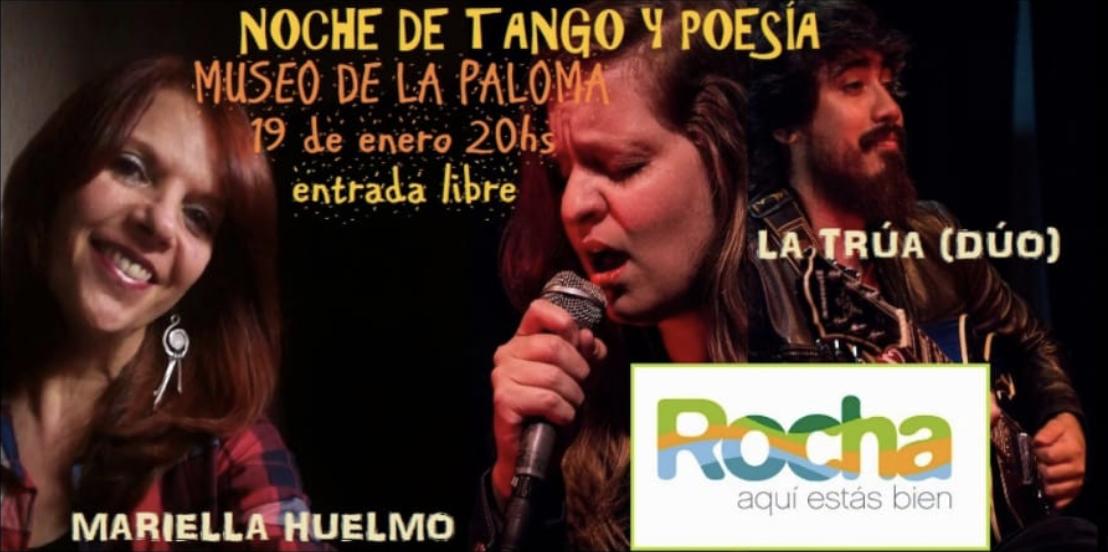 Noche de tango y poesías en La Paloma