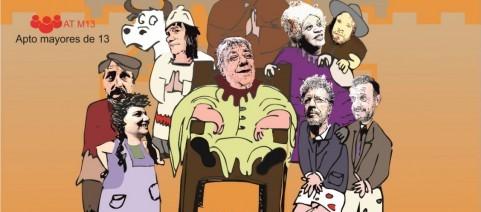Teatro en La Paloma: Emperador Nicandro, rajemos que se viene la cultura!