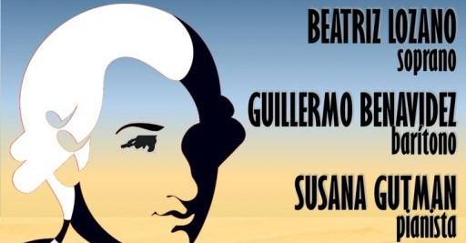 Homenaje a Mozart con la presentación de importantes artistas!